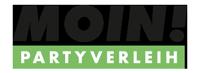 MOIN! Partyverleih Logo